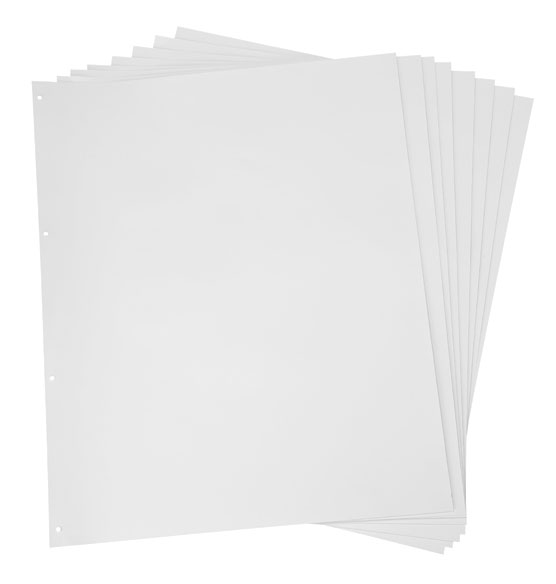 Refill Pages for Gigantic Scrapbook (set of 10)