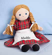 Personalized Big Sister Doll