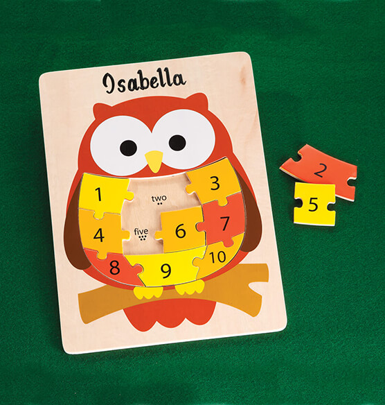 Personalized Owl Puzzle