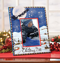 Open Date Christmas Frame   Horizontal