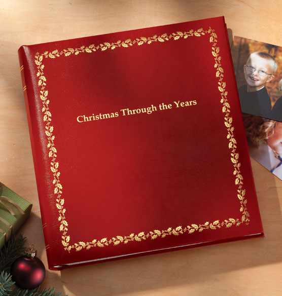 Keepsake Christmas Photo Album – Through the Years