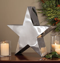 Holiday Décor - Iconic Star Sculpture