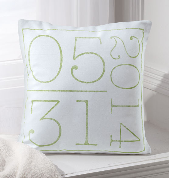 Birth Date Pillow