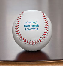 Gifts for the Sports Lover - Personalized Baseball