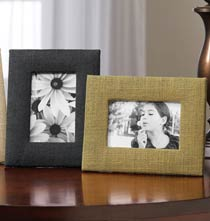 Gifts for Her - Sisal Burlap Frame