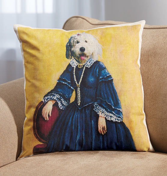 Royal Pet Personalized Pillow