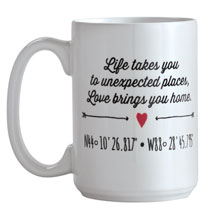 Gifts for Her - Life and Love Mug