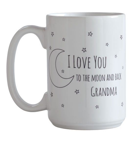 Personalized To the Moon Mug