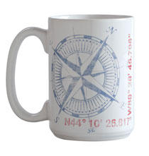 Entertaining for Him - True North Mug