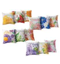 Flower of the Month Pillow