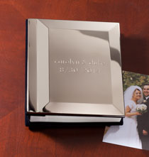 Personalized Tabletop - Silverplate Personalized Album