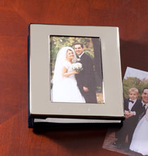 Anniversary Gifts - Silverplate Frame Album