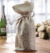 Wedding Essentials - Special Date Wine Bag