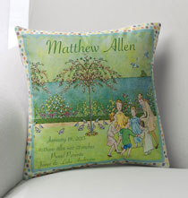 Personalized Pillows - Nostalgic Nursery Pillow