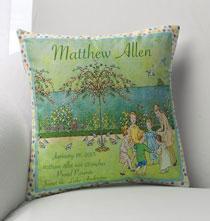 Nostalgic Nursery Pillow