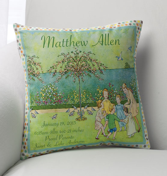 Nostalgic Nursery Pillow