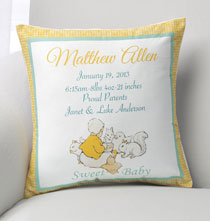 Personalized Pillows - Sweet Baby Pillow