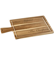 Gifts for the Foodie - Wood Cutting Board