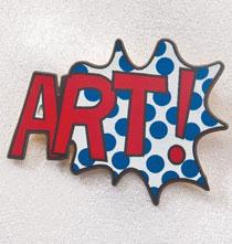 Pop Art Pin