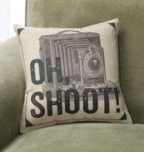 Oh Shoot! Pillow