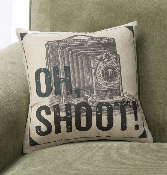 Oh Shoot! Pillow