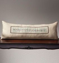 Personalized Pillows - Best Friend Linen Pillow
