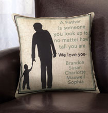 Personalized Pillows - Father Pillow