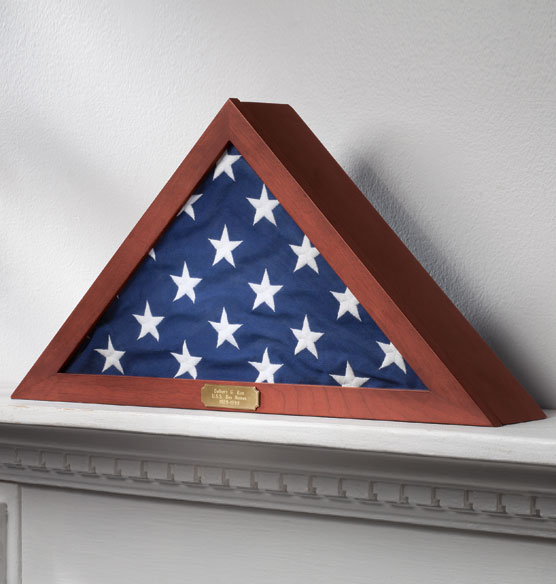 Personalized Veterans Flag Case