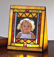 Illuminated Craftsman Photo Frame