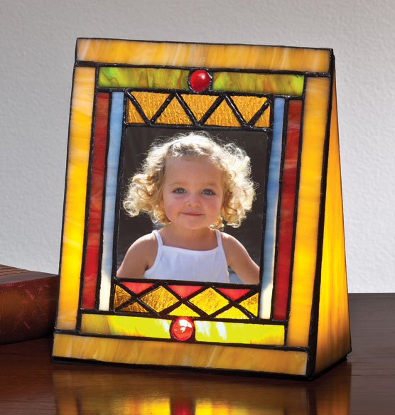 Illuminated Craftsman Photo Frame - View 1