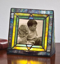 Gifts for Her - Arts and Crafts Illuminated Photo Frame