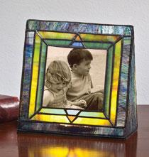 Arts and Crafts Illuminated Photo Frame