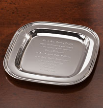 Gifts for the Hostess - Invitation Tray