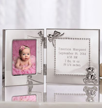 Keepsakes - Personalized Baby Announcement Frame