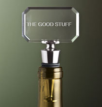 Gifts for the Wine Lover - Personalized Amusing Bottle Stopper