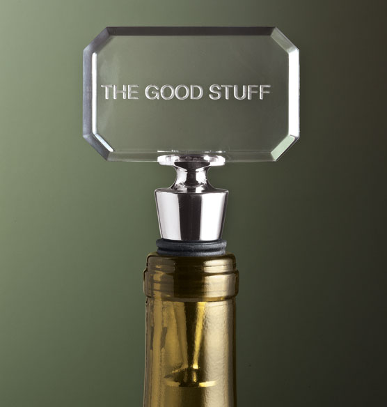 Personalized Amusing Bottle Stopper - View 1