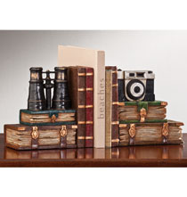 Decorative Accents - Explorer Bookends