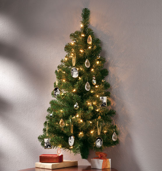 3-Ft. Wall Tree with 50 Lights - Wall Tree - Exposures