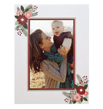 Photo Insert Cards - Holiday Blossom