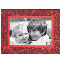 Truly Red Photo Christmas Card Set of 18