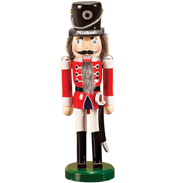 Personalized Wooden Nutcracker