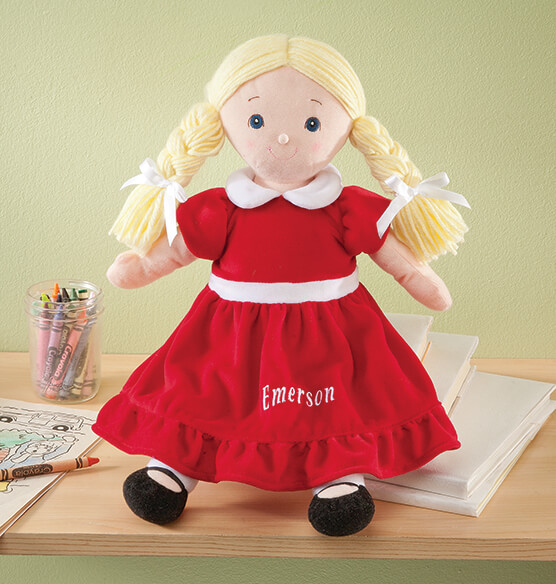 Personalized Big Sister Birthstone Doll - View 1