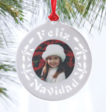 Photo Products - Feliz Navidad Ornament