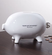 Gifts for Him - Good Advice Piggy Bank