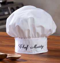 Personalized Kitchen Gifts - Classic Chef's Hat