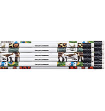 Books & Education - Personalized Zoo Animal Pencils, Set of 12