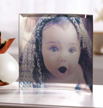 Unique Frames - Curved Glass Custom Photo Panel