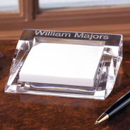 Personalized Unique Gifts - Clearylic Paper Pad Holder