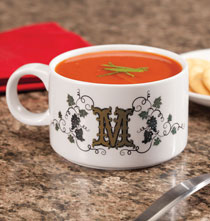 Gifts for the Foodie - Personalized Tuscan Sunset Soup Bowl