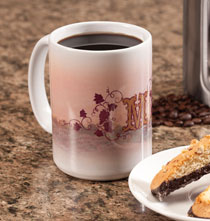 Gifts for the Foodie - Personalized Tuscan Sunset Mug